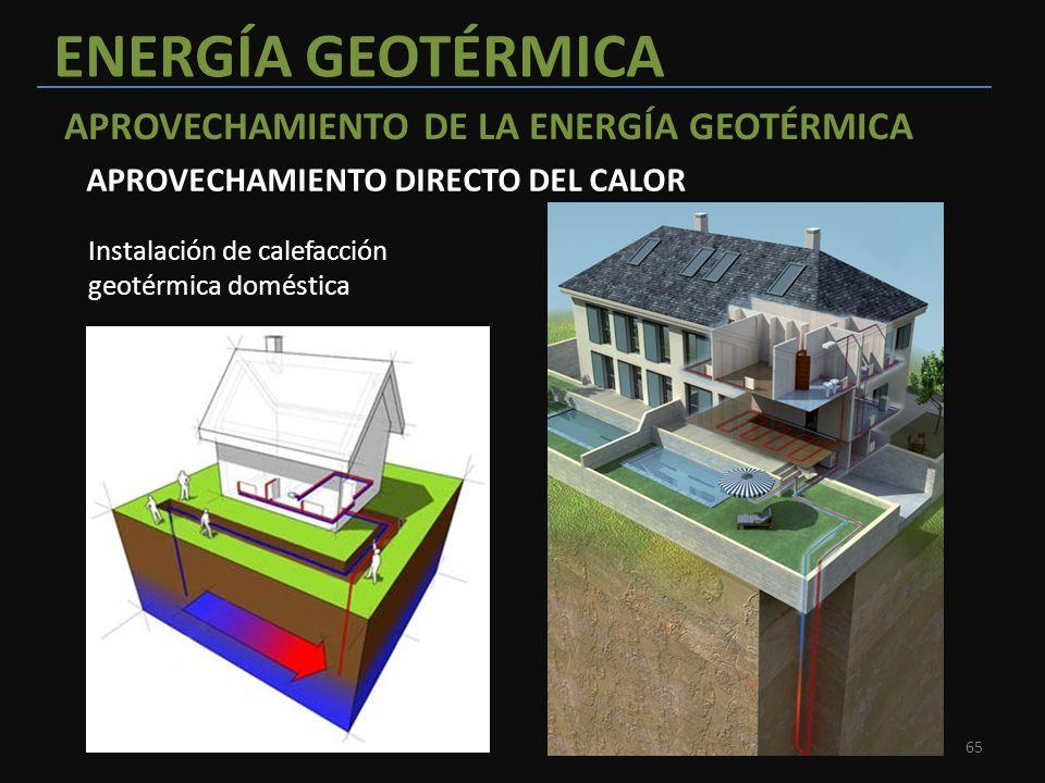 Unidad 3 energ as renovables ppt descargar - Energia geotermica domestica ...