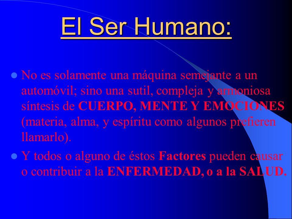 El Ser Humano: