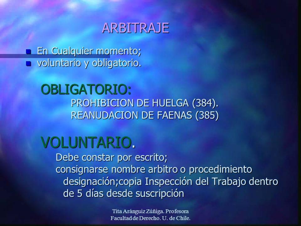 Tita Aránguiz Zúñiga. Profesora Facultad de Derecho. U. de Chile.