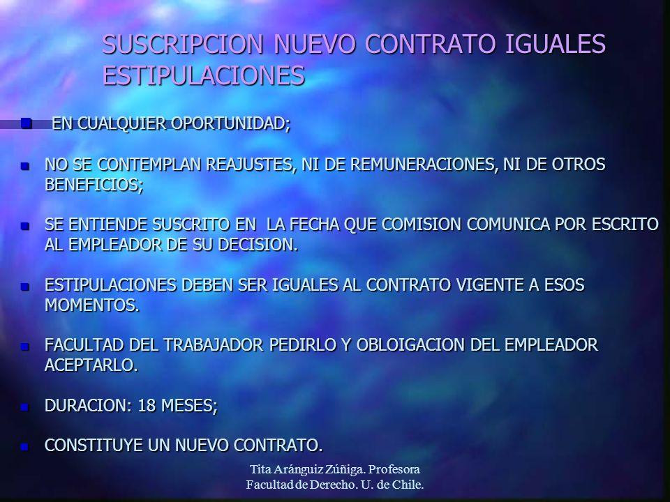 SUSCRIPCION NUEVO CONTRATO IGUALES ESTIPULACIONES