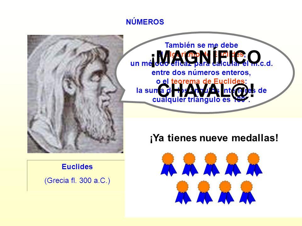 ¡MAGNÍFICO CHAVAL@! ¡Ya tienes nueve medallas! SÍ NO NÚMEROS