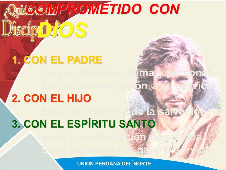 COMPROMETIDO CON DIOS 1. CON EL PADRE