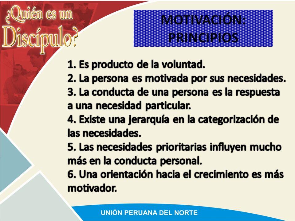 MOTIVACIÓN: PRINCIPIOS
