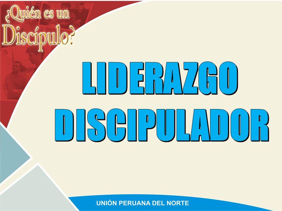 LIDERAZGO DISCIPULADOR