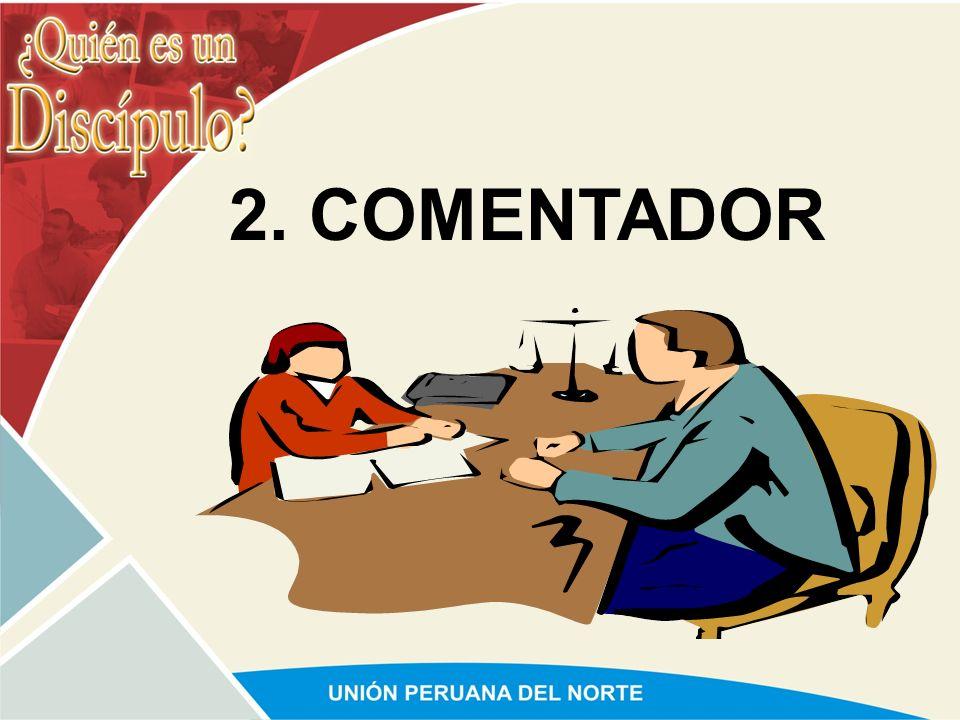 2. COMENTADOR