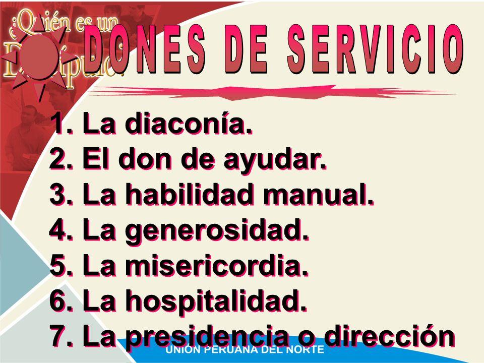 7. La presidencia o dirección
