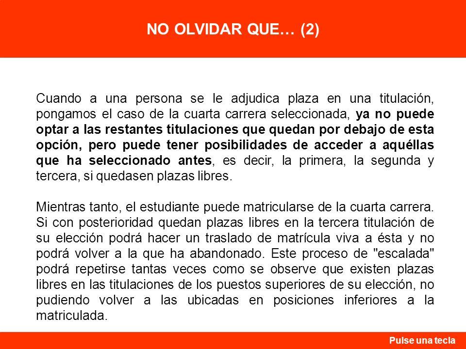 NO OLVIDAR QUE… (2)