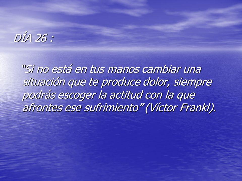 DÍA 26 :