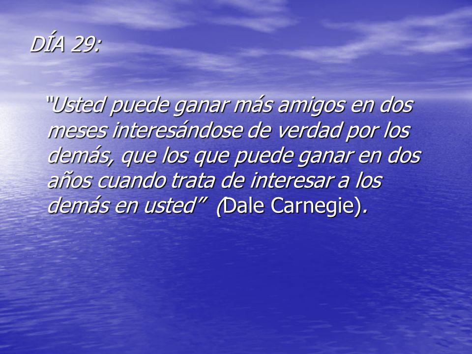 DÍA 29: