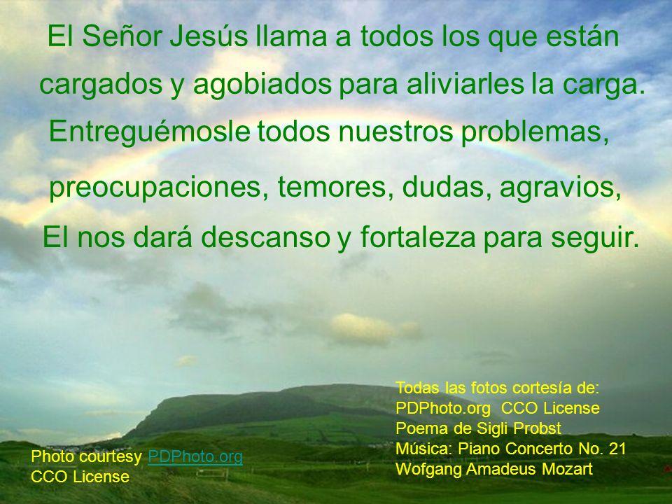 El Señor Jesús llama a todos los que están