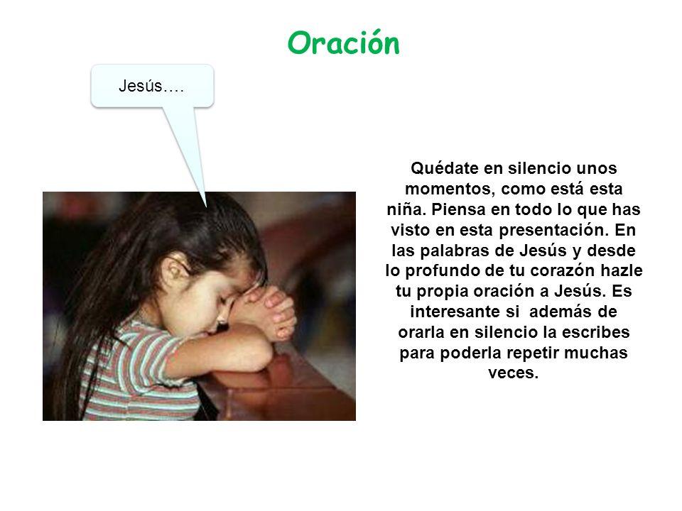 Oración Jesús….