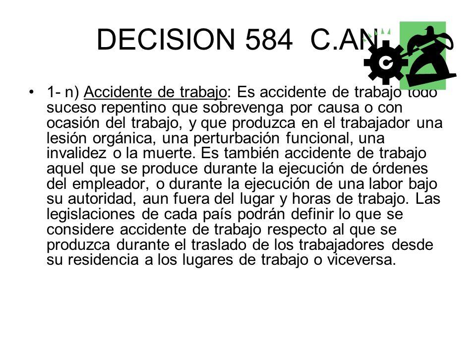 DECISION 584 C.AN