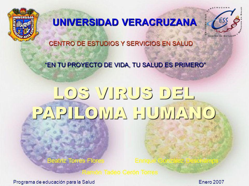 LOS VIRUS DEL PAPILOMA HUMANO