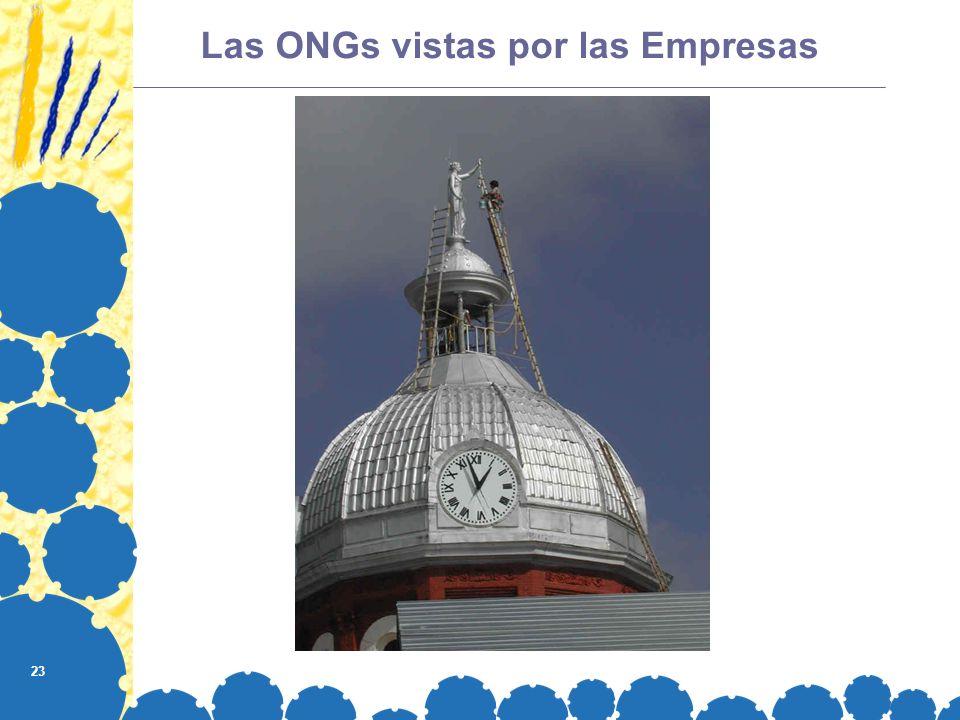 Las ONGs vistas por las Empresas