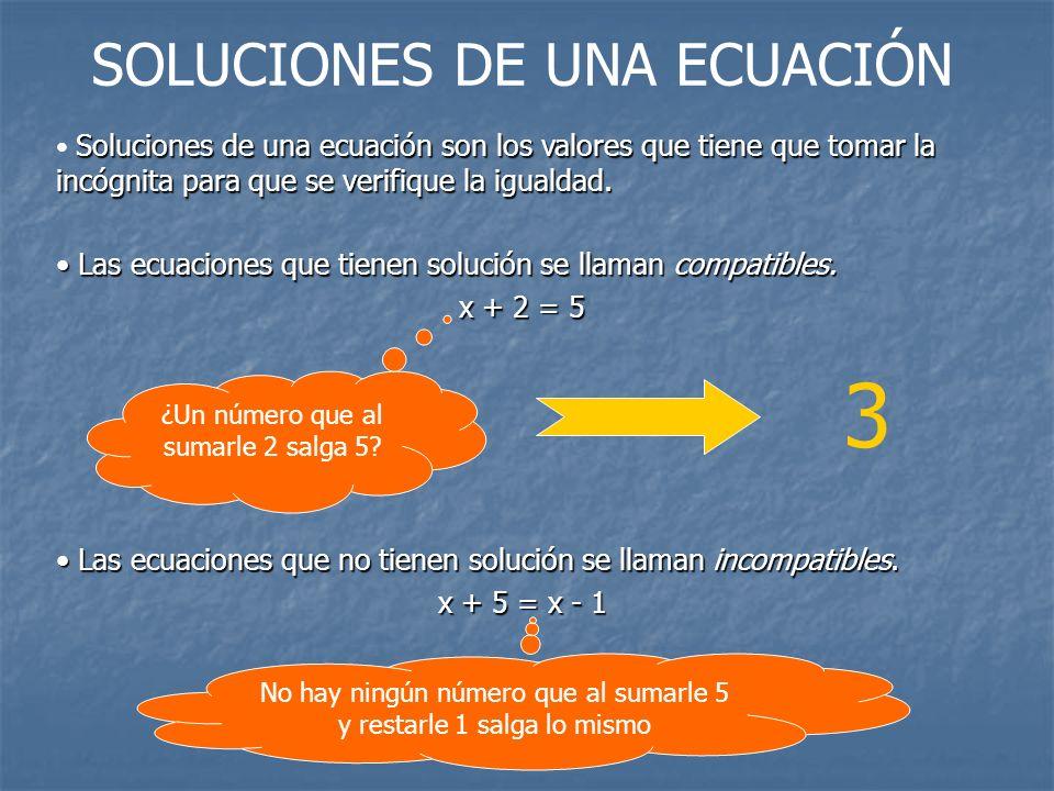 3 SOLUCIONES DE UNA ECUACIÓN