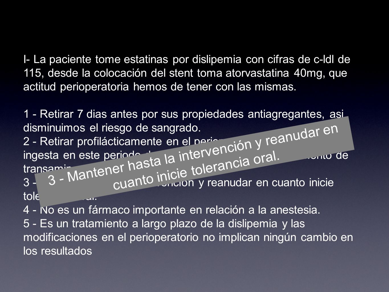 PREGUNTAS CASO CLINICO PREANESTESIA - ppt descargar