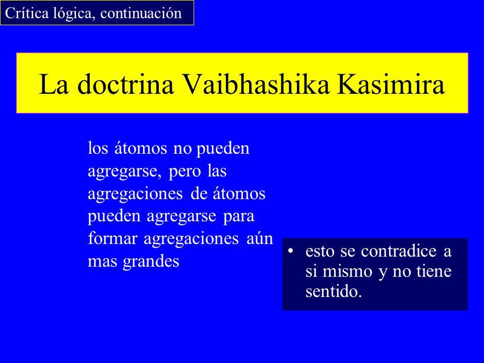 La doctrina Vaibhashika Kasimira