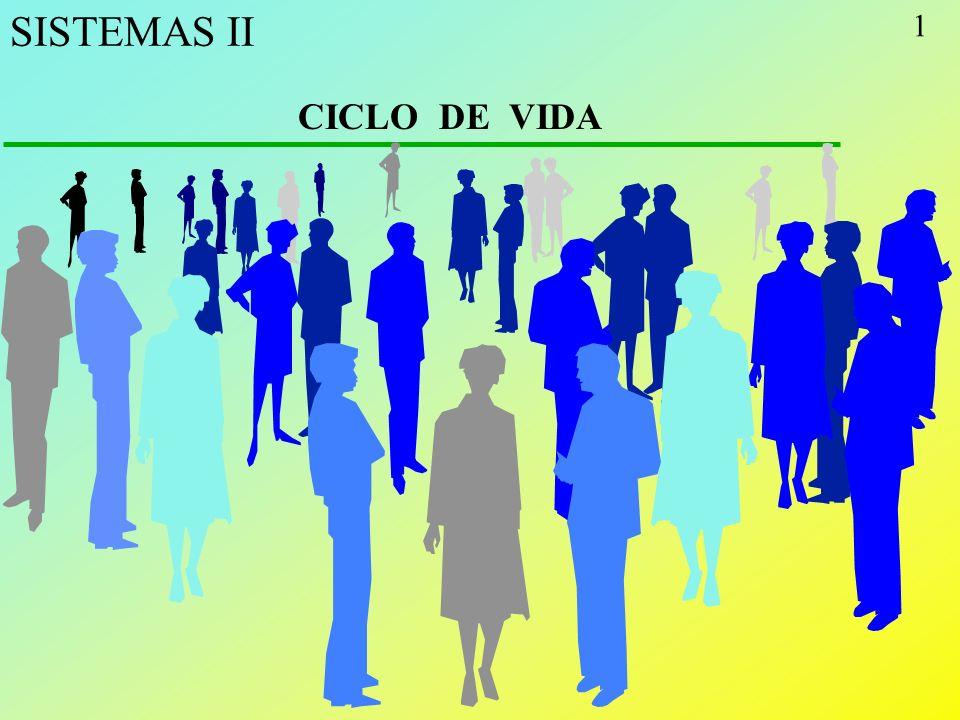 SISTEMAS II CICLO DE VIDA