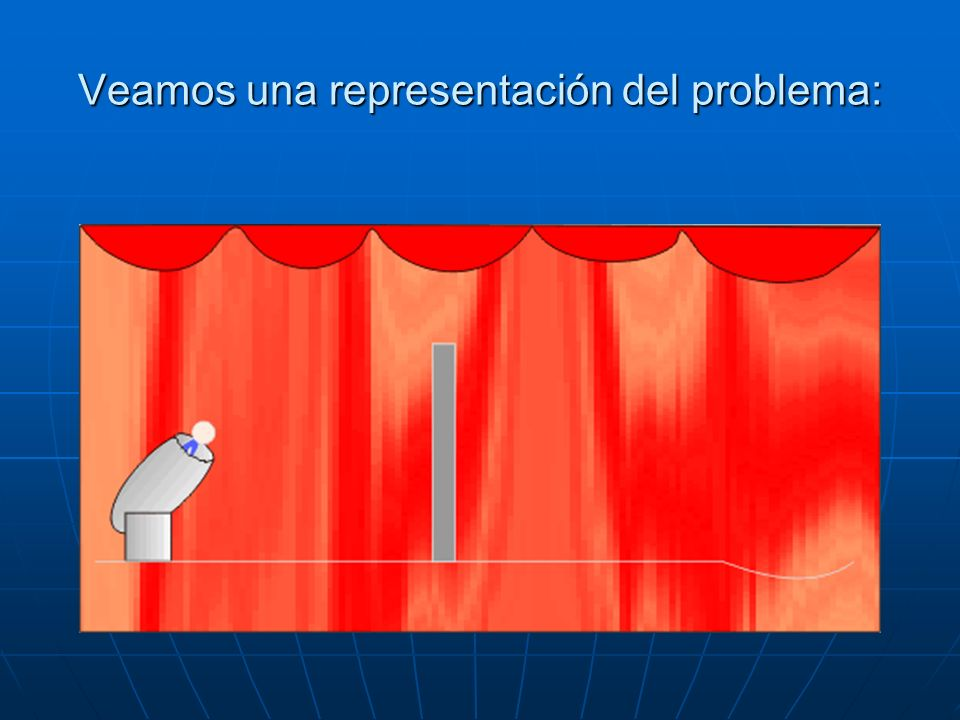 Veamos una representación del problema: