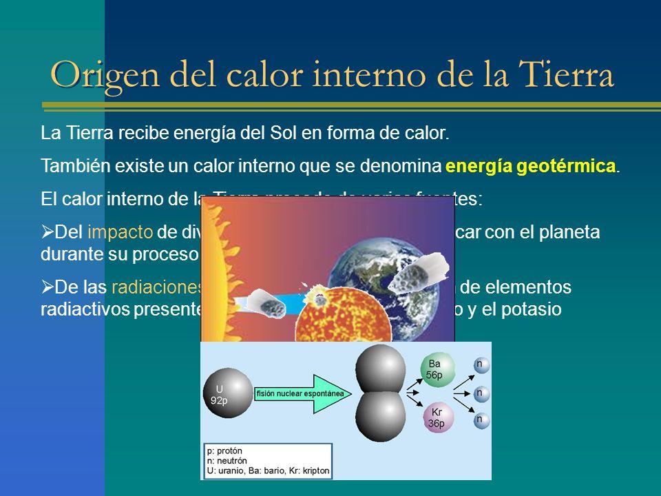 Origen del calor interno de la Tierra