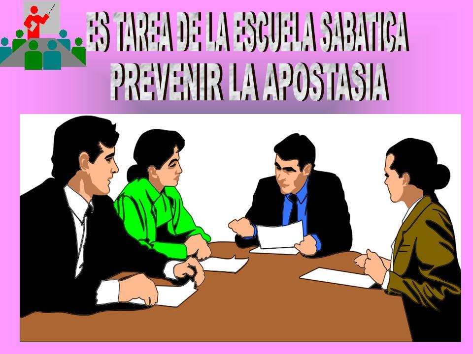 ES TAREA DE LA ESCUELA SABATICA