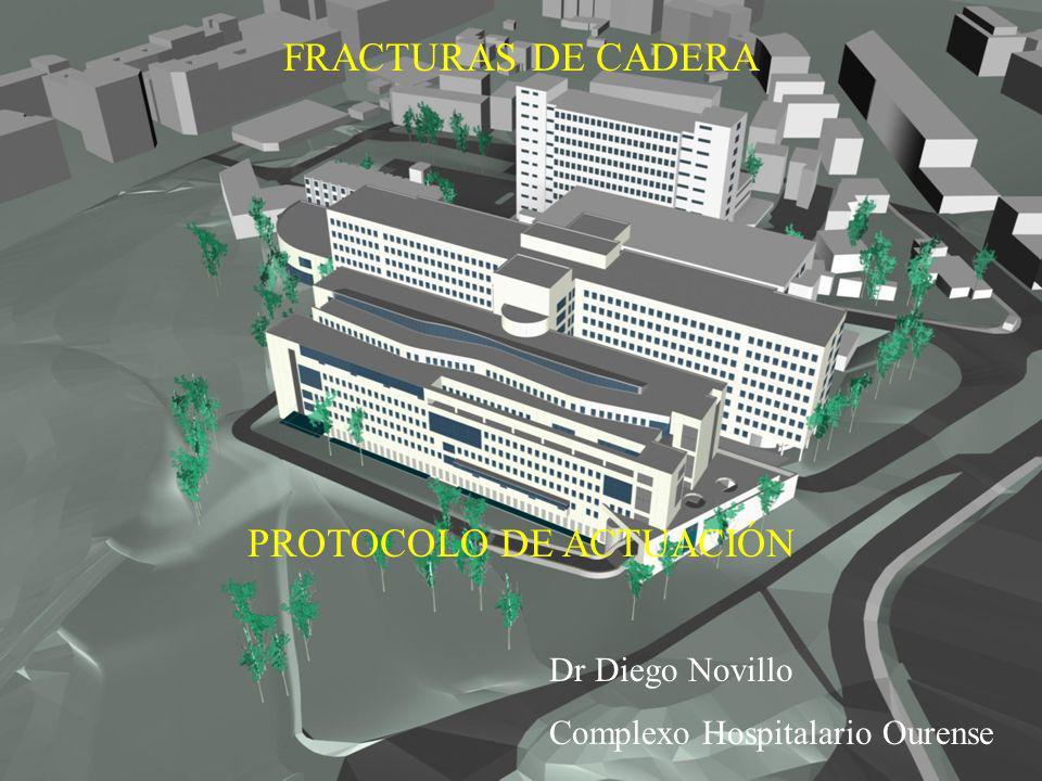 Fracturas de cadera Protocolo de actuación