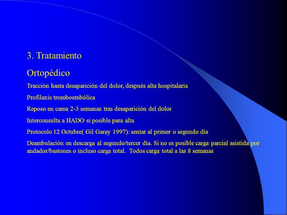 3. Tratamiento Ortopédico