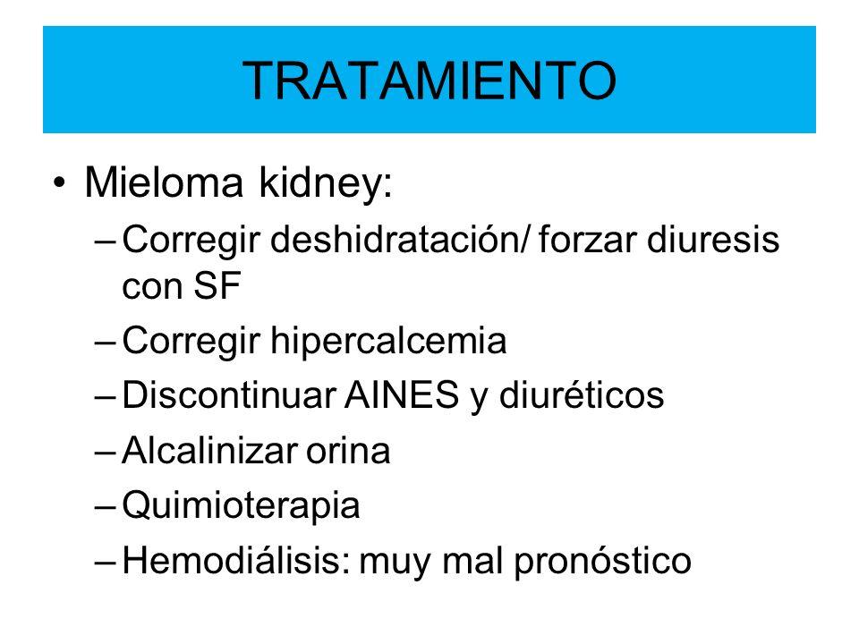 TRATAMIENTO Mieloma kidney: