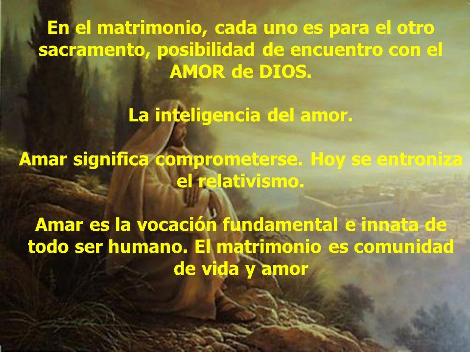 La inteligencia del amor.
