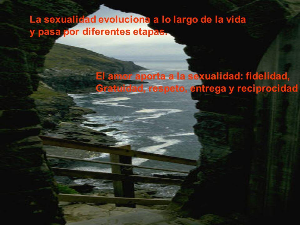 La sexualidad evoluciona a lo largo de la vida