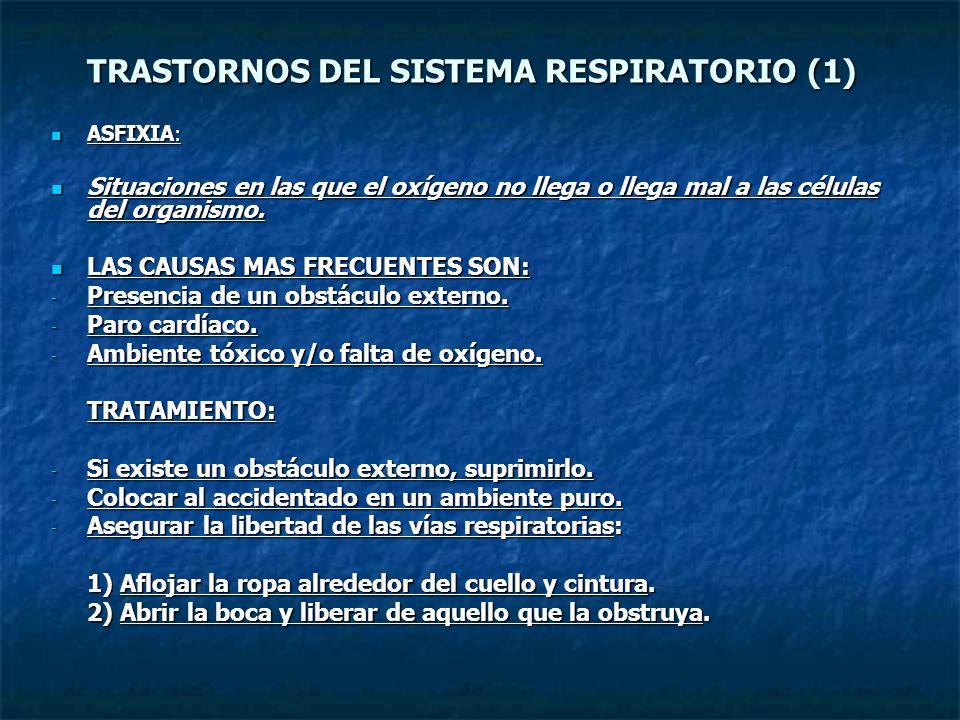 TRASTORNOS DEL SISTEMA RESPIRATORIO (1)