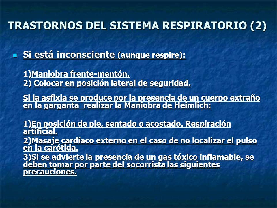 TRASTORNOS DEL SISTEMA RESPIRATORIO (2)
