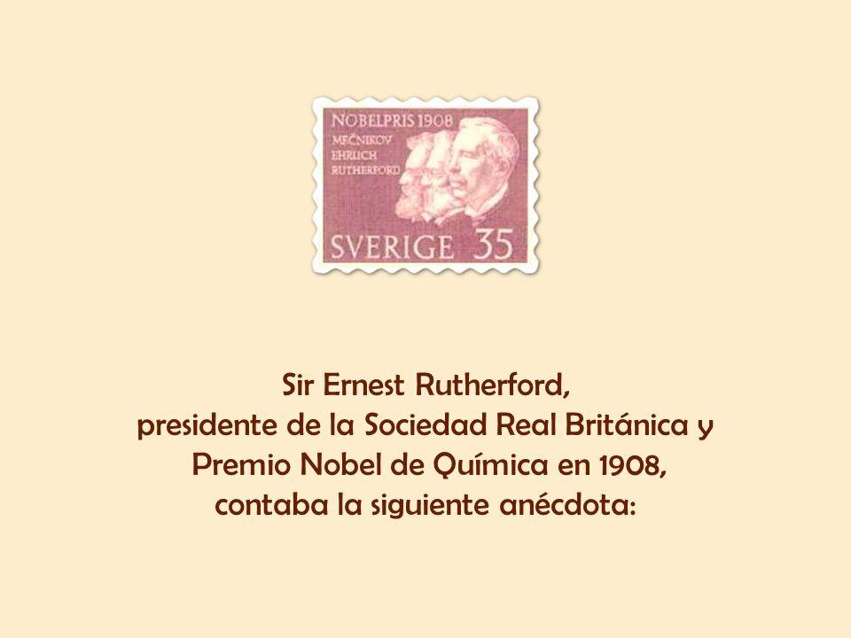 presidente de la Sociedad Real Británica y