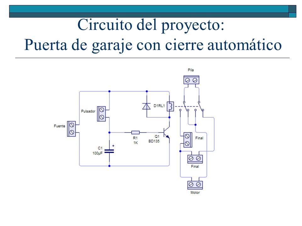 Circuitos integrados 4 ipe ppt descargar - Proyecto puerta de garaje ...