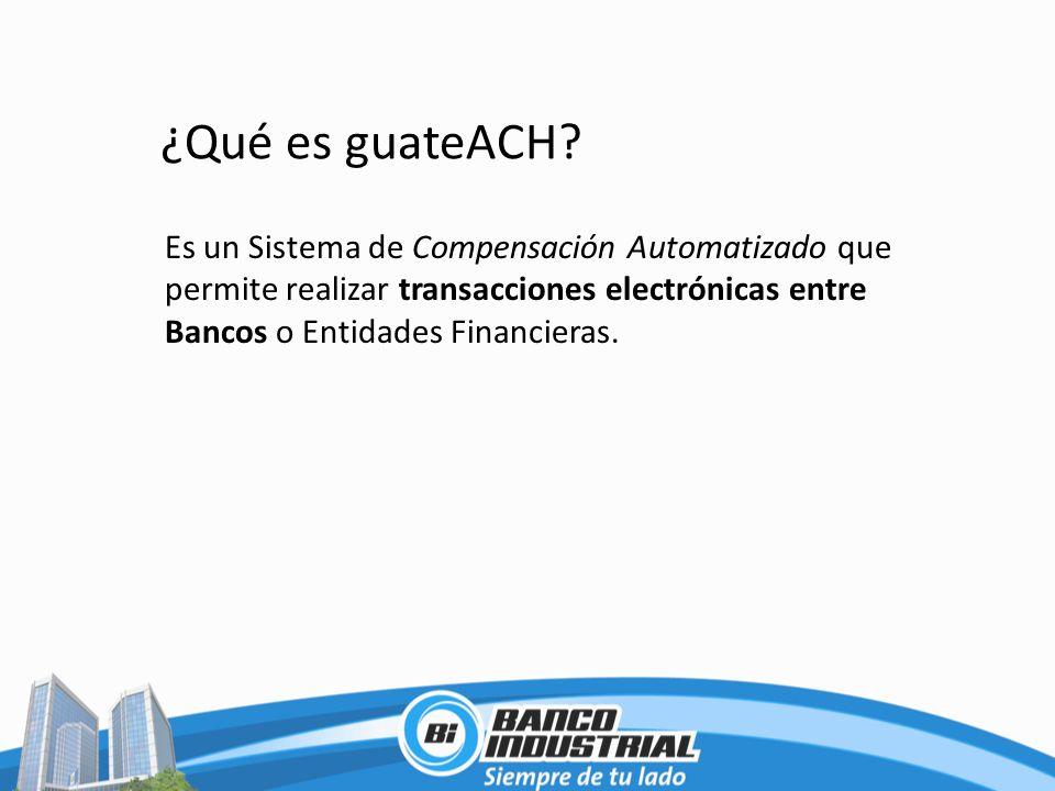 ¿Qué es guateACH.