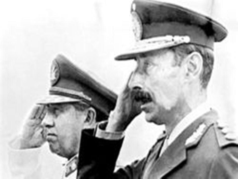 Nuestros dictadores militares latinoamericanos
