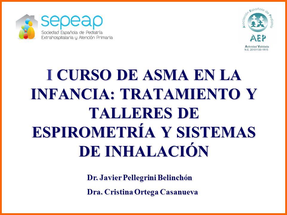 I CURSO DE ASMA EN LA INFANCIA: TRATAMIENTO Y TALLERES DE ESPIROMETRÍA Y SISTEMAS DE INHALACIÓN