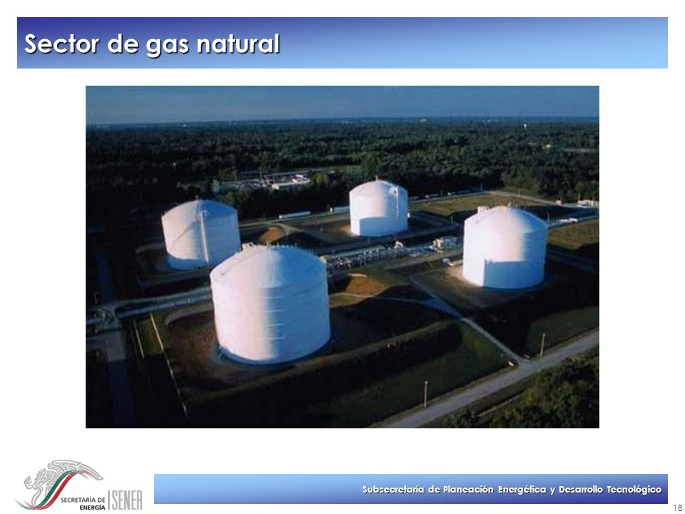 Sector de gas natural