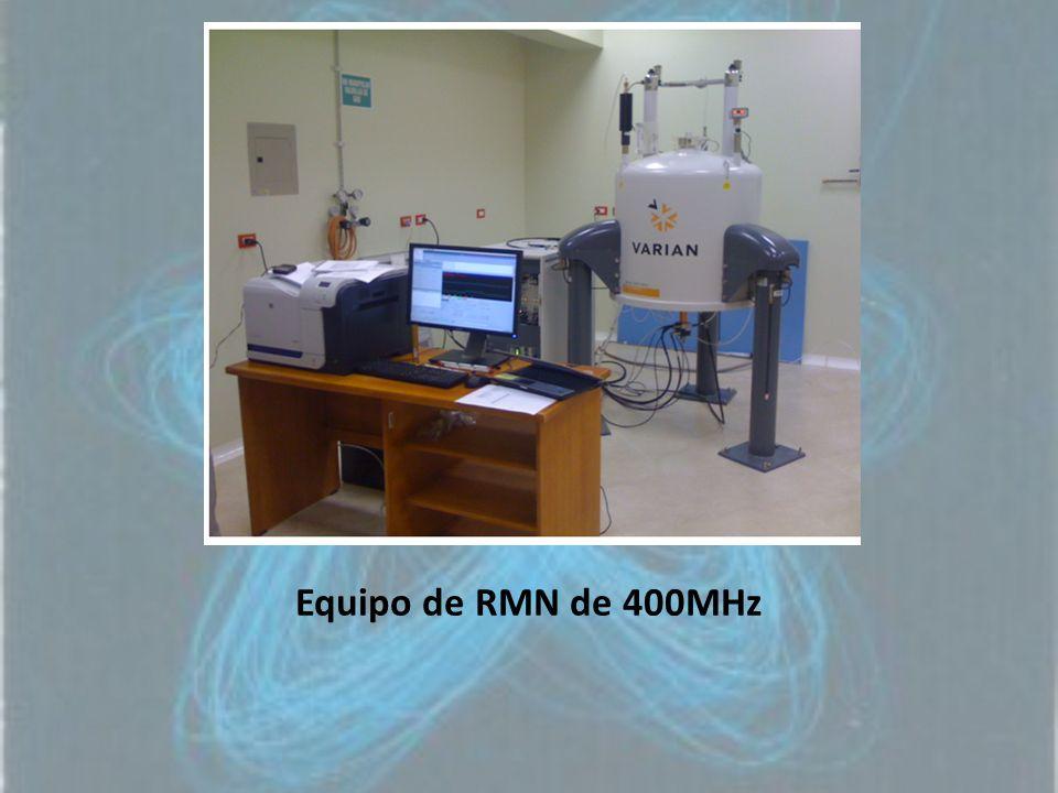 Equipo de RMN de 400MHz