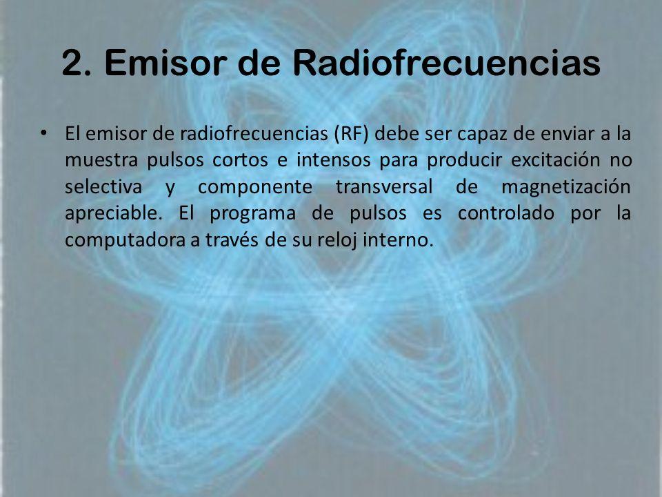 2. Emisor de Radiofrecuencias