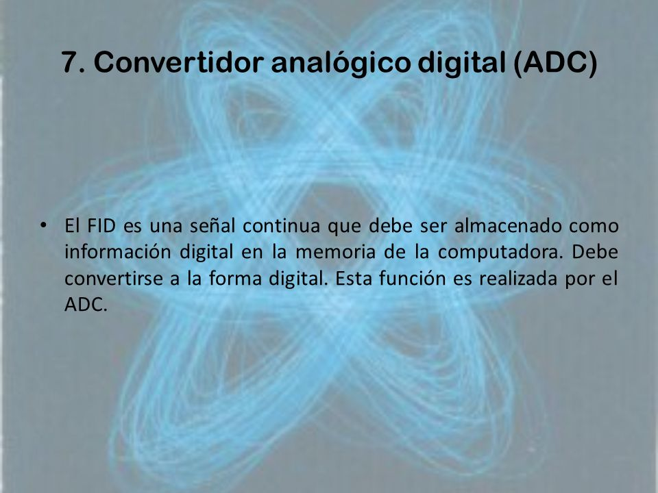 7. Convertidor analógico digital (ADC)