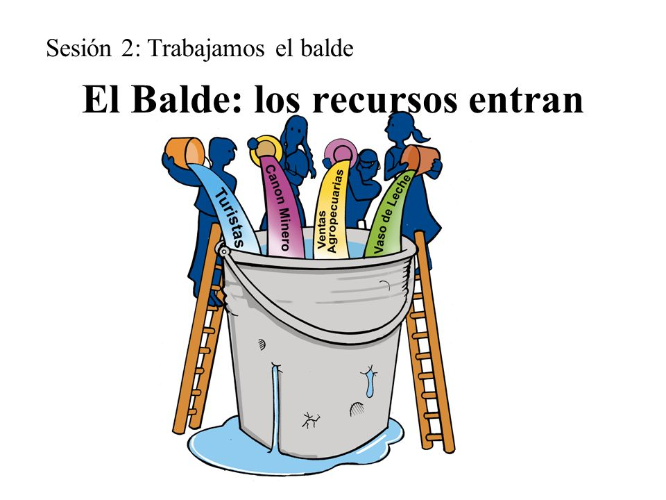 El Balde: los recursos entran