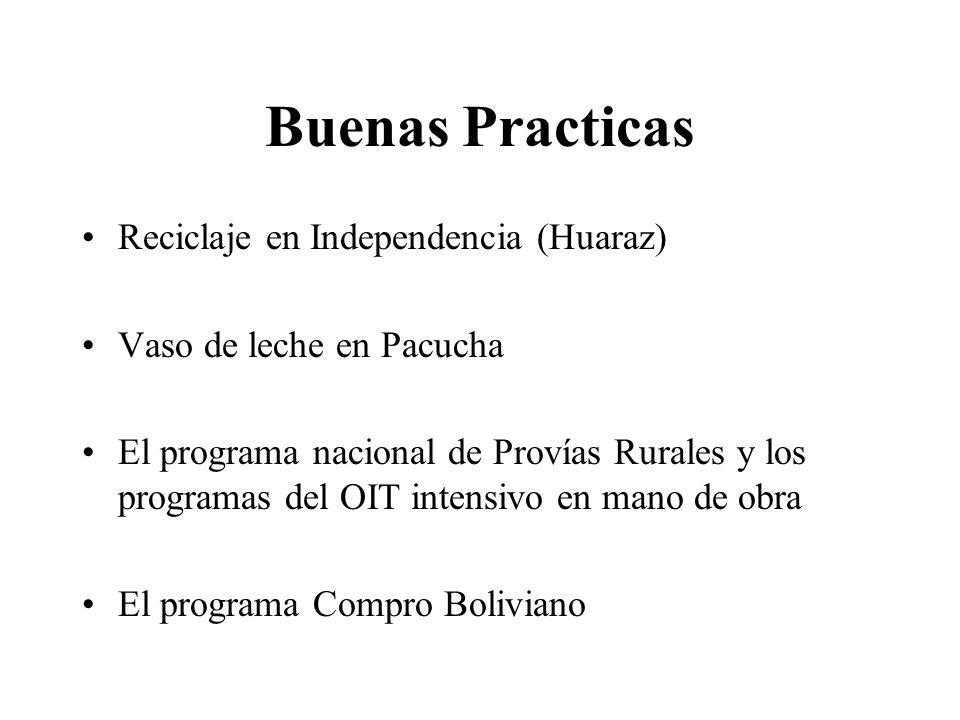 Buenas Practicas Reciclaje en Independencia (Huaraz)