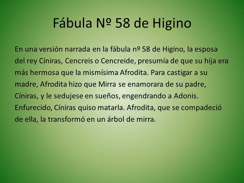 Fábula Nº 58 de Higino