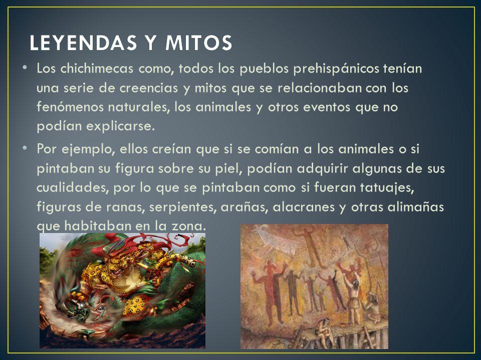 LEYENDAS Y MITOS