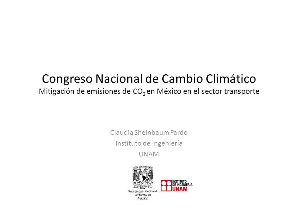 Claudia Sheinbaum Pardo Instituto de Ingeniería UNAM