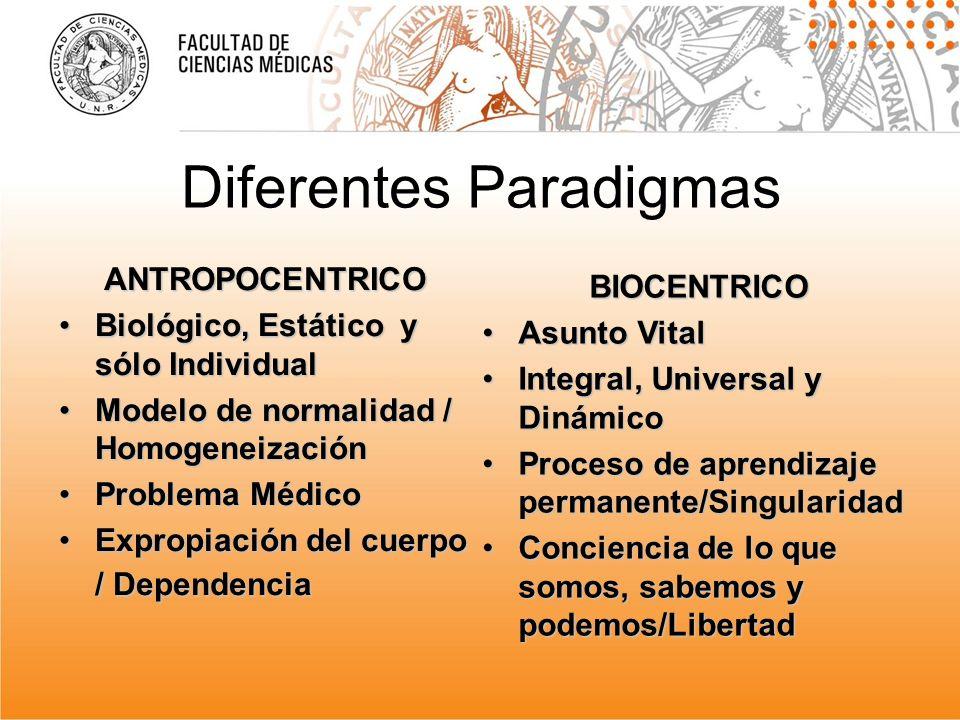 Diferentes Paradigmas