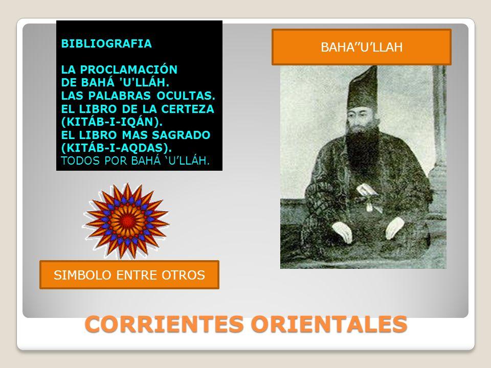 CORRIENTES ORIENTALES