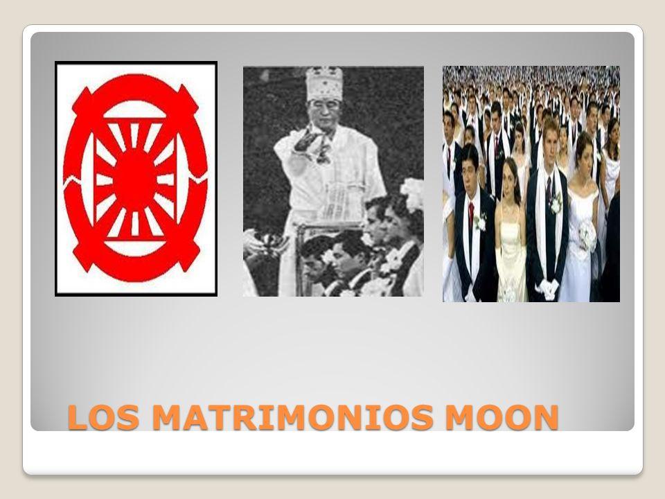 LOS MATRIMONIOS MOON