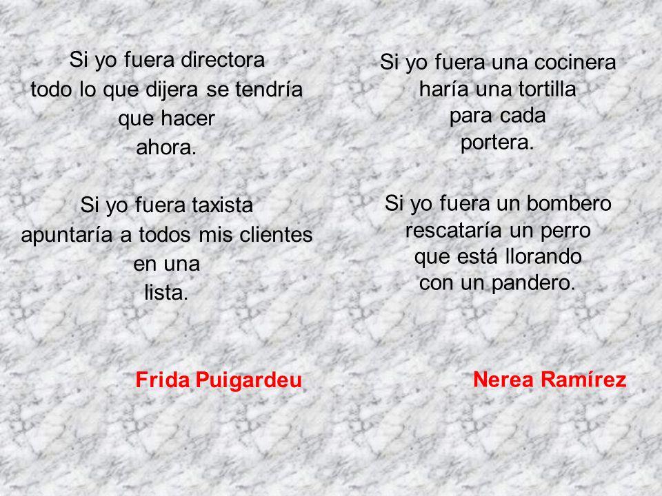 Frida Puigardeu Nerea Ramírez